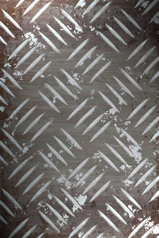 Diamond plate metal texture - a very nice background for an industrial or construction type look.