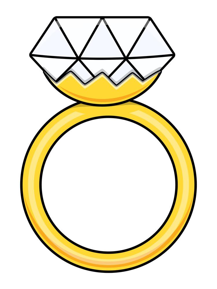 diamond ring cartoon vector illustration royalty free stock image rh storyblocks com diamond ring cartoon picture engagement ring cartoon