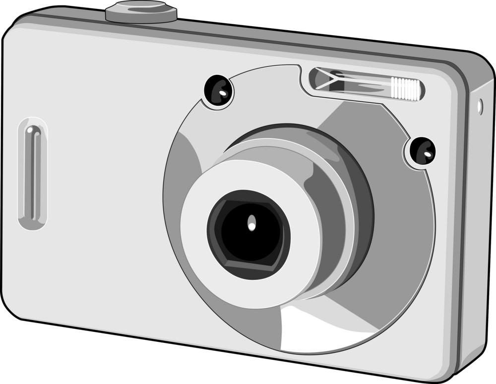 Digital Camera Retro