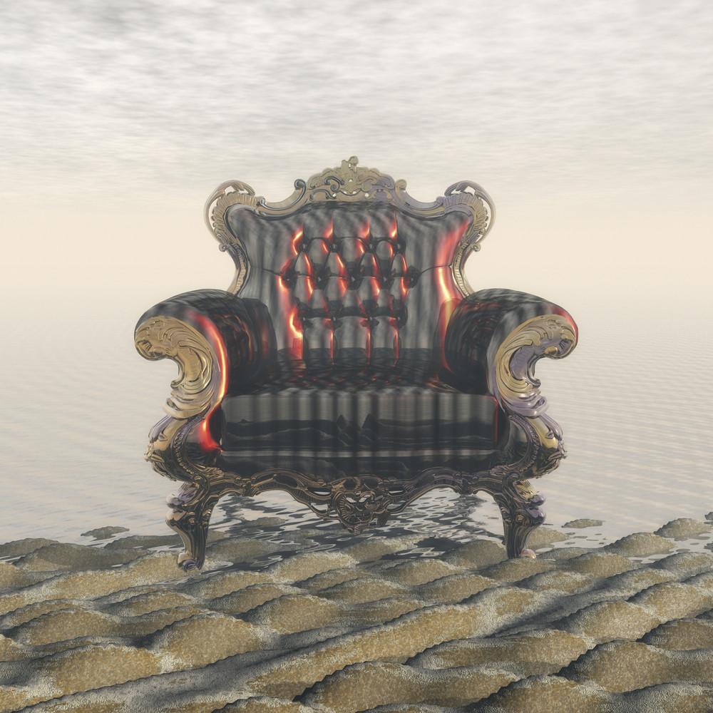 Digital Visualization Of An Interior Scene