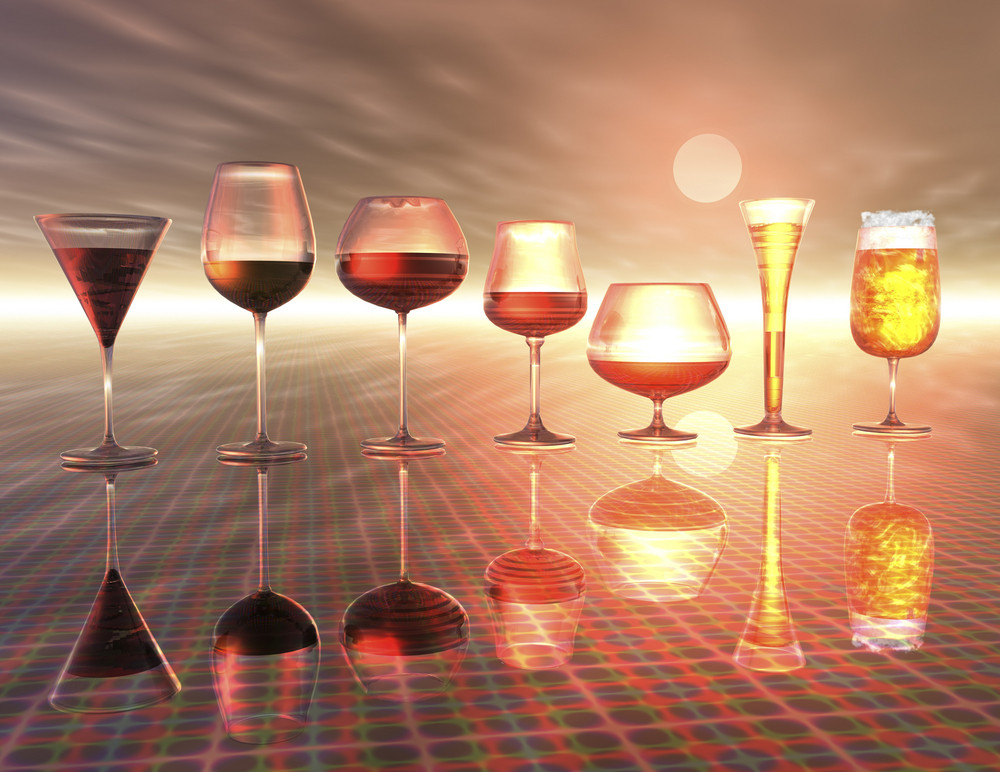 Digital Visualization Of Drinks