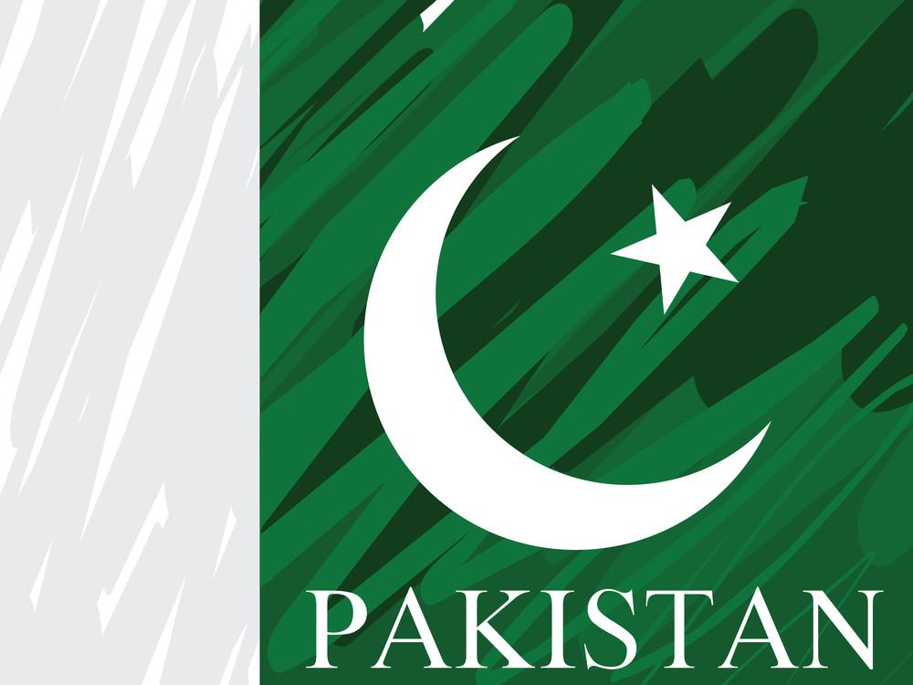 Dirty Pakistan National Flag