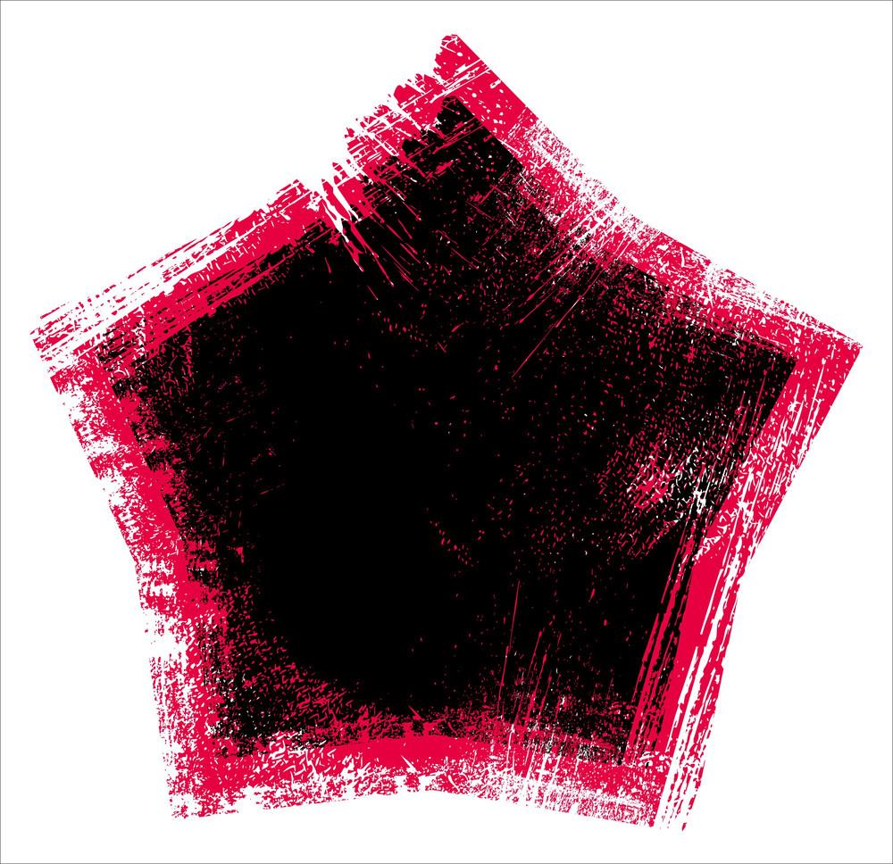 Dirty Star Grunge Background