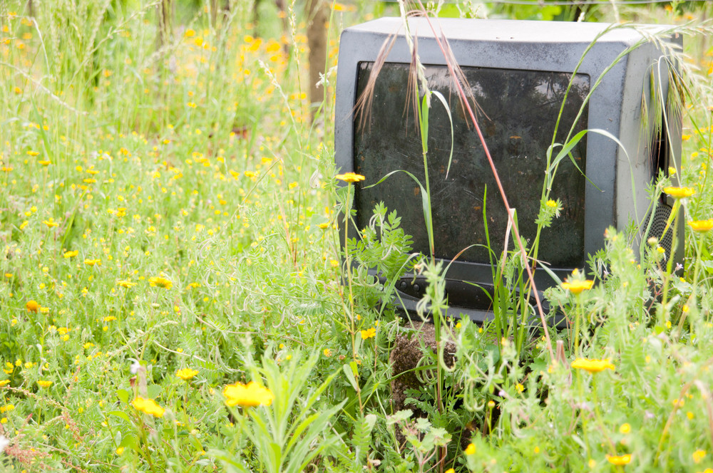 Discarded Television