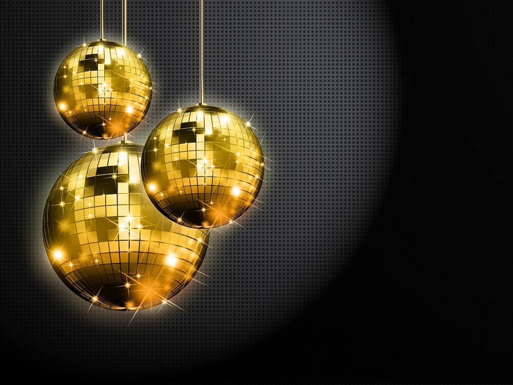 Disco Light Balls