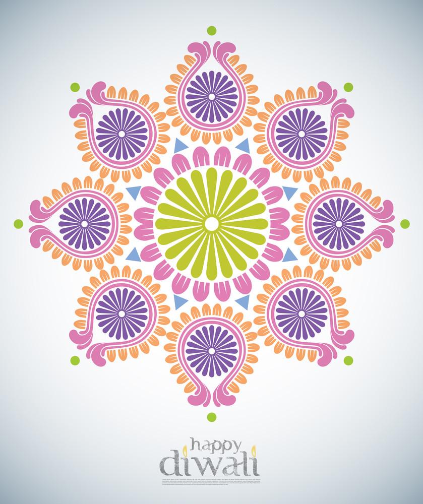 Diwali Kolam Patterns