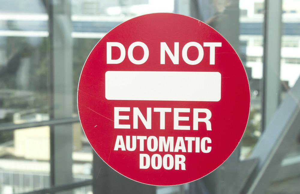 Do Not Enter Signboard 268