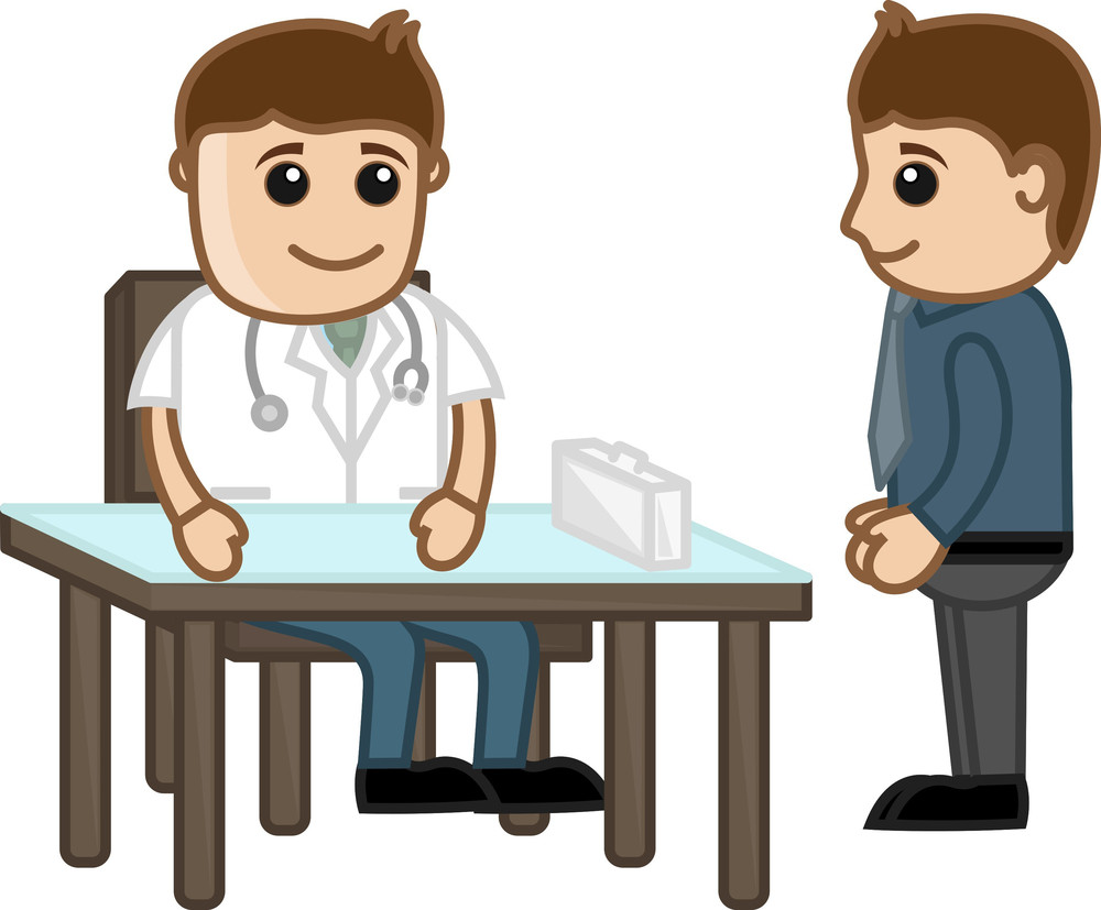Doctor Suggestion  - Medical Cartoon Characters