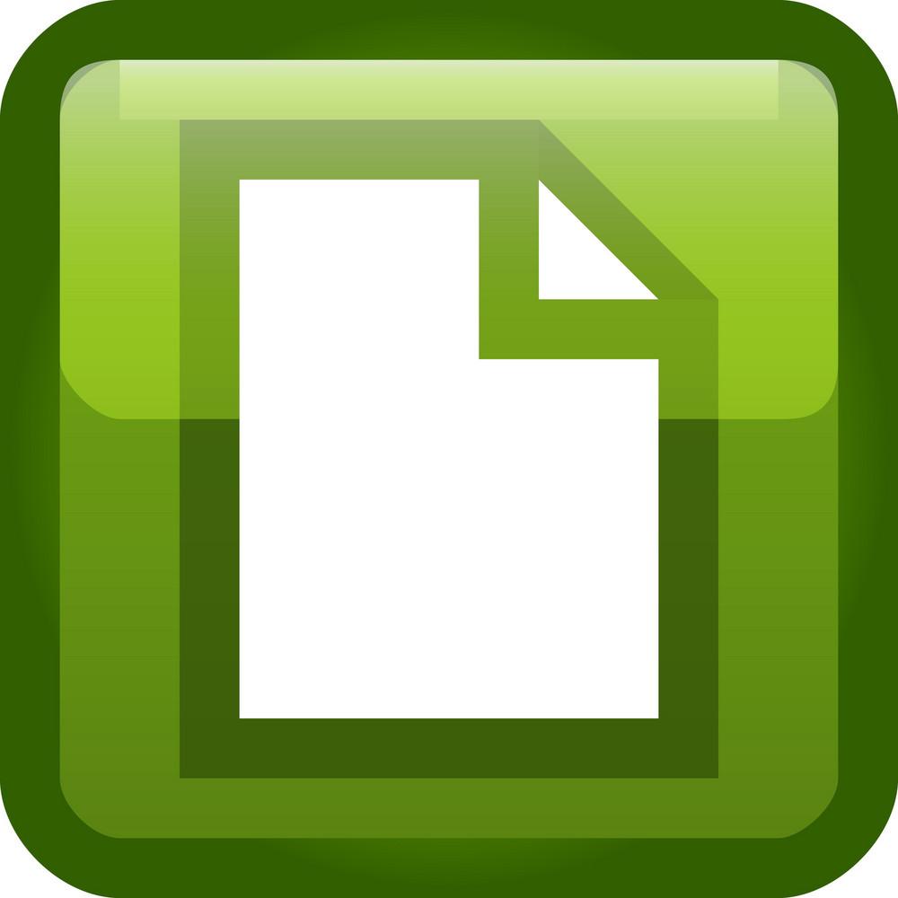 Document Green Tiny App Icon