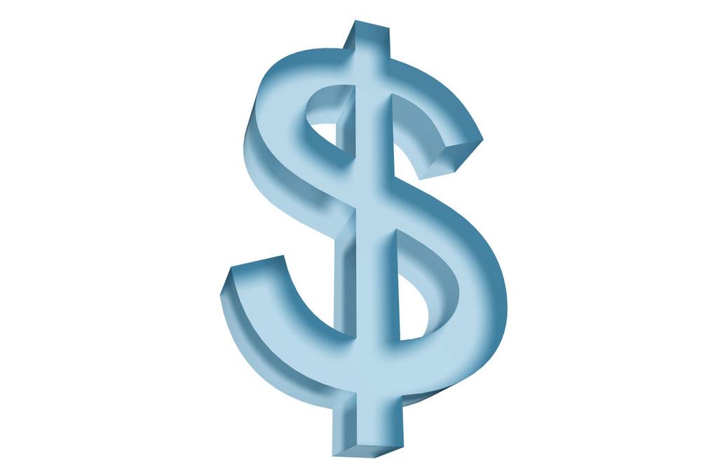 Dollar Symbol 3d
