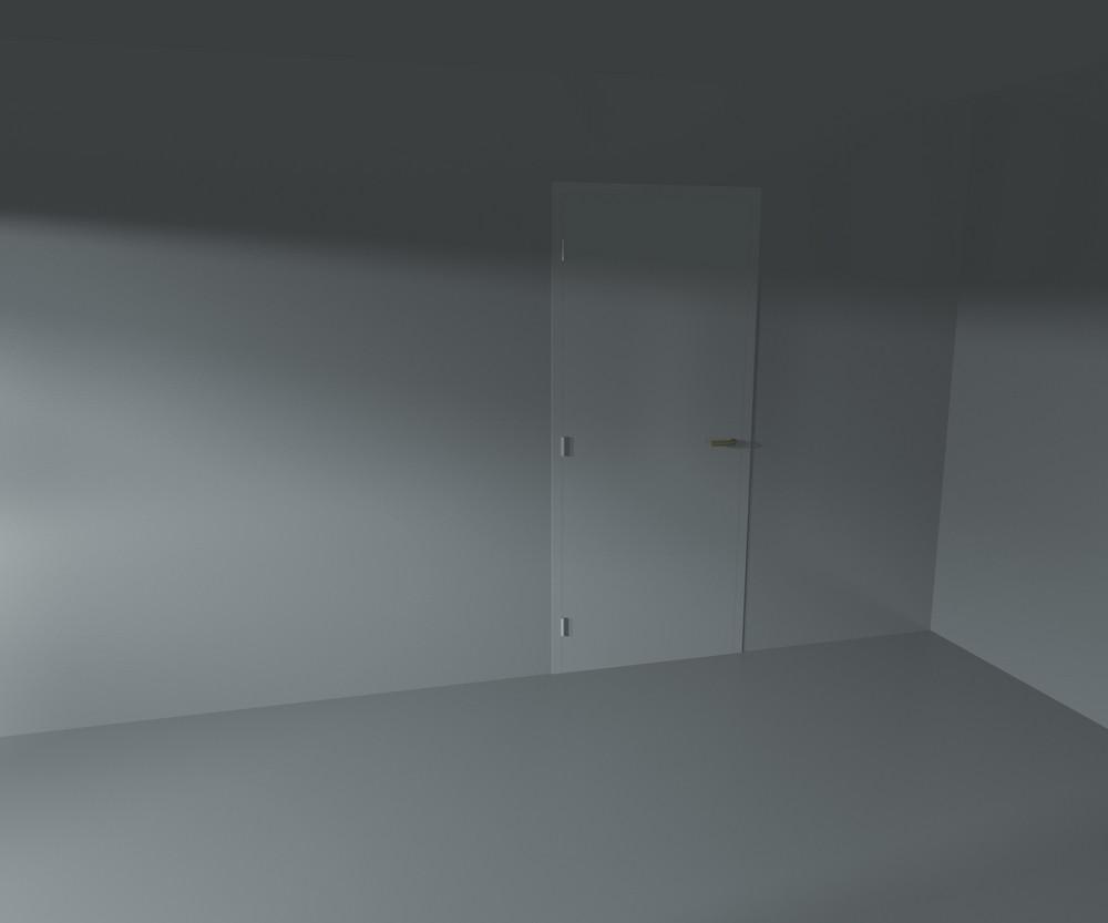 Door Empty Interior Rendered Background