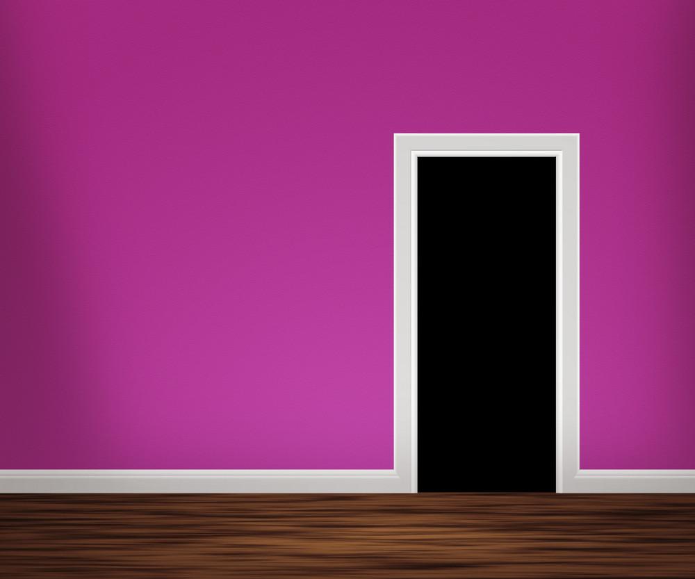 Door In Violet Room