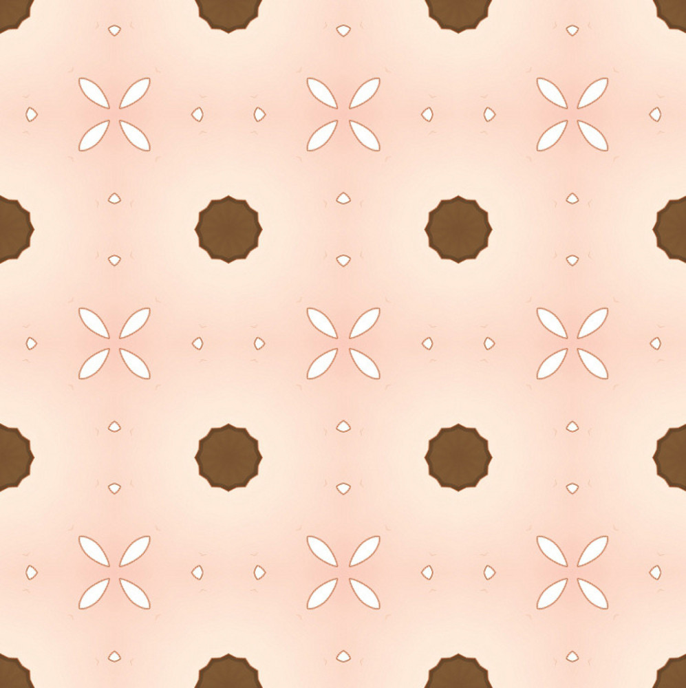 Dotted Floral Pattern