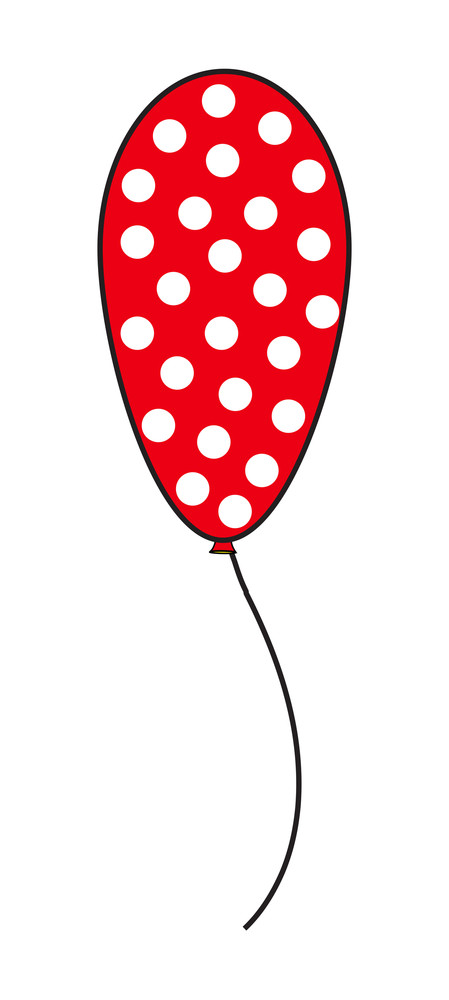 Dotted Pattern Balloon