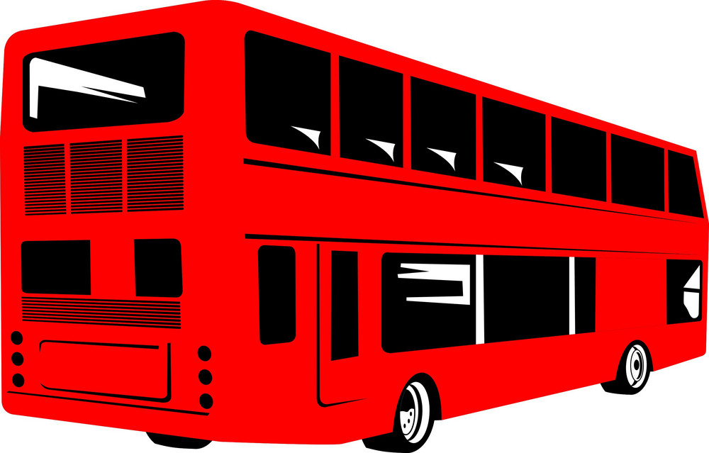 Double Decker Coach Bus