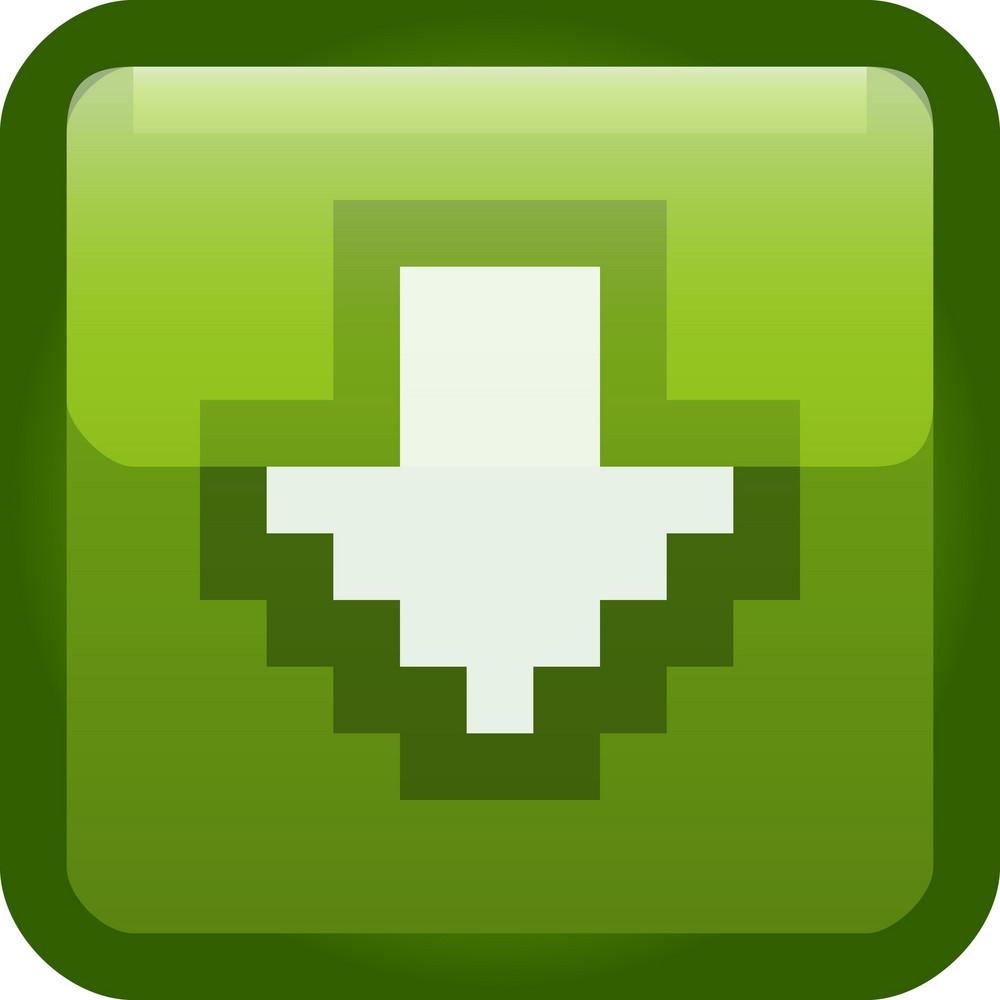 Download Arrow Green Tiny App Icon