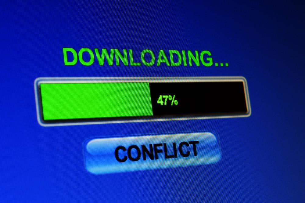 Download Conflict