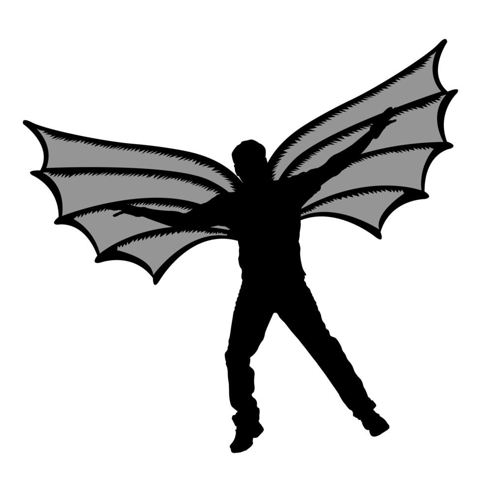 Dracula Vampire Character Silhouette