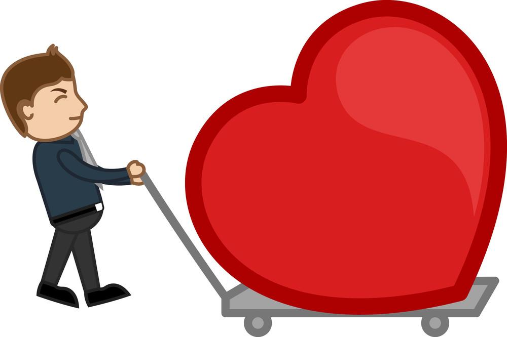 Dragging A Heart In A Trolley