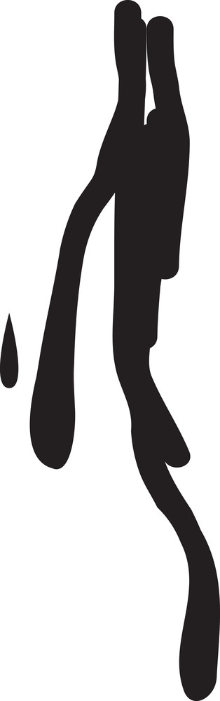 Drips And Drops Vector Element