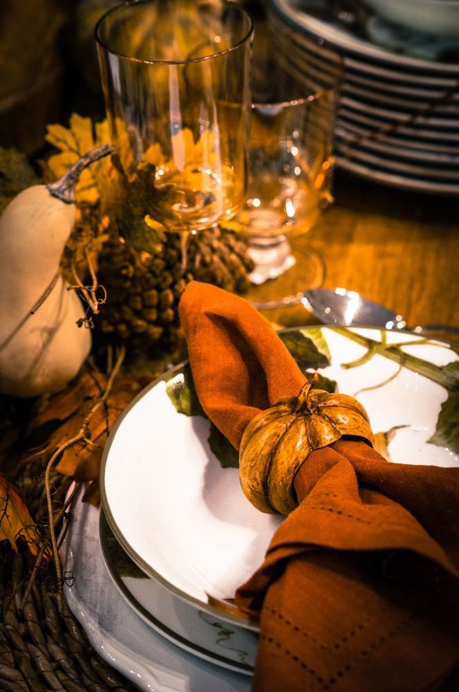 Thanksgiving Table Decoration