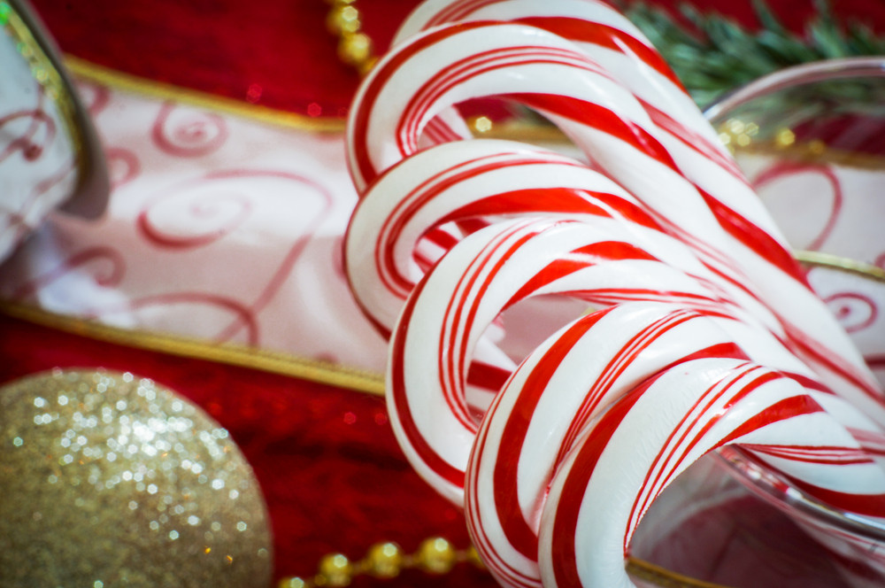 Christmas Peppermint Candy Canes