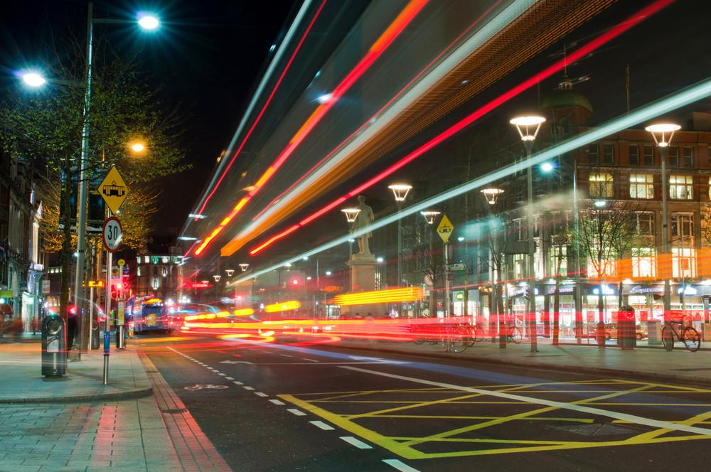 Dublin At Night
