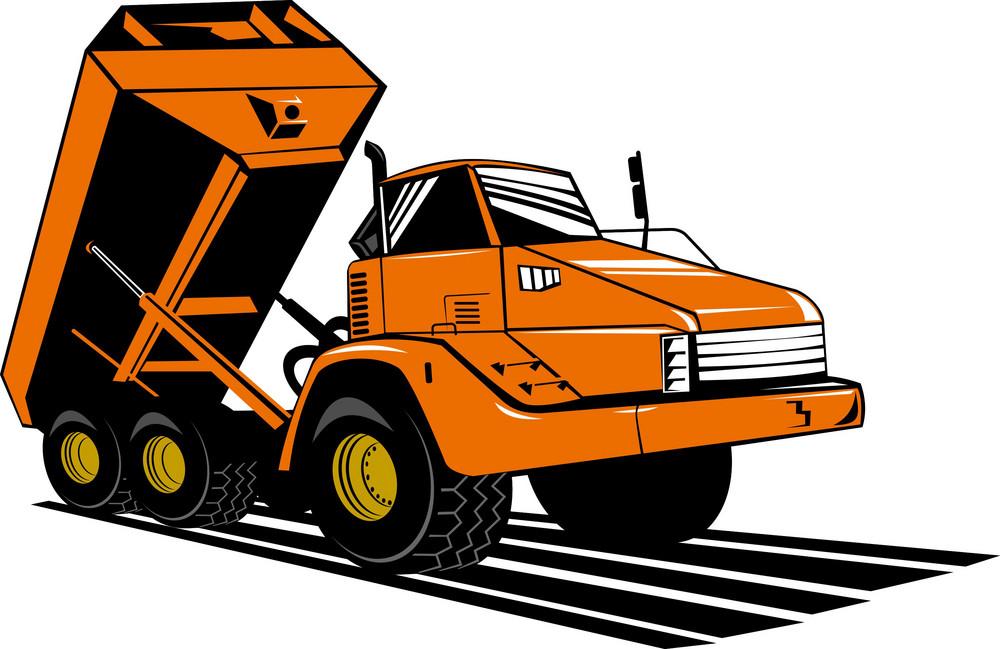 Dumper Tipper Truck Lorry