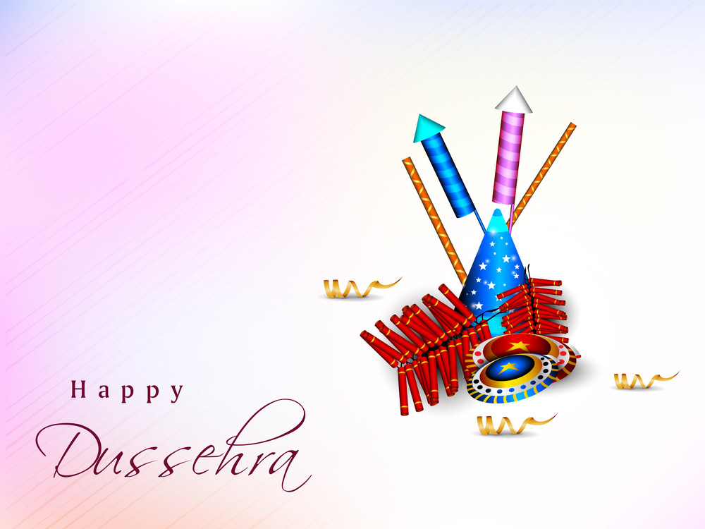 Dussehra Festival Background.
