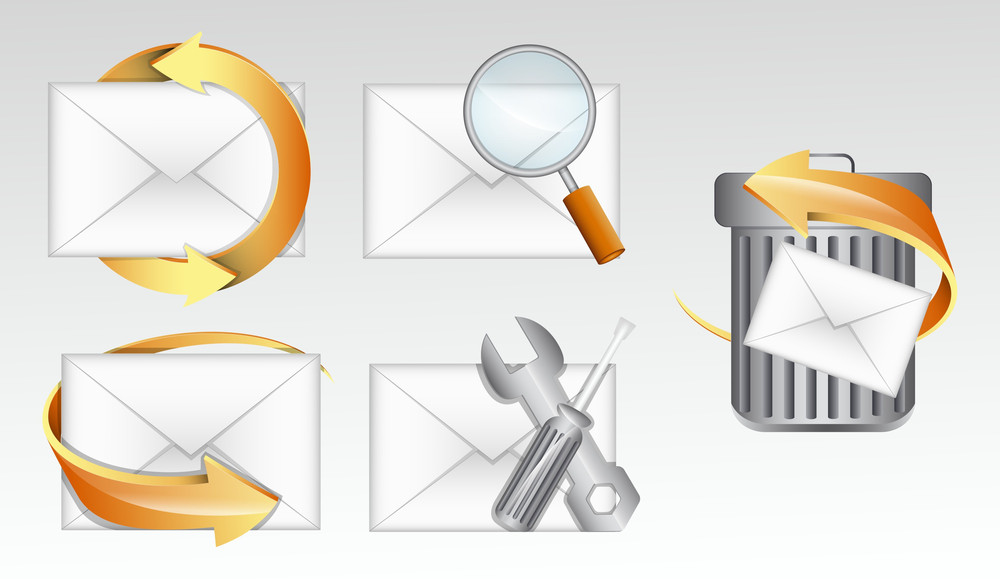 E-mail Icons Vectors