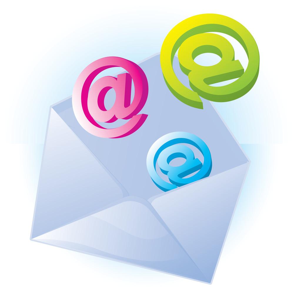 E-mail. Vector.