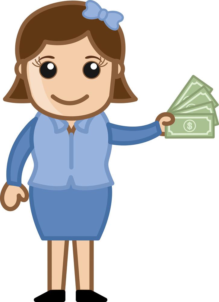 Earn Cash - Vector Illustration