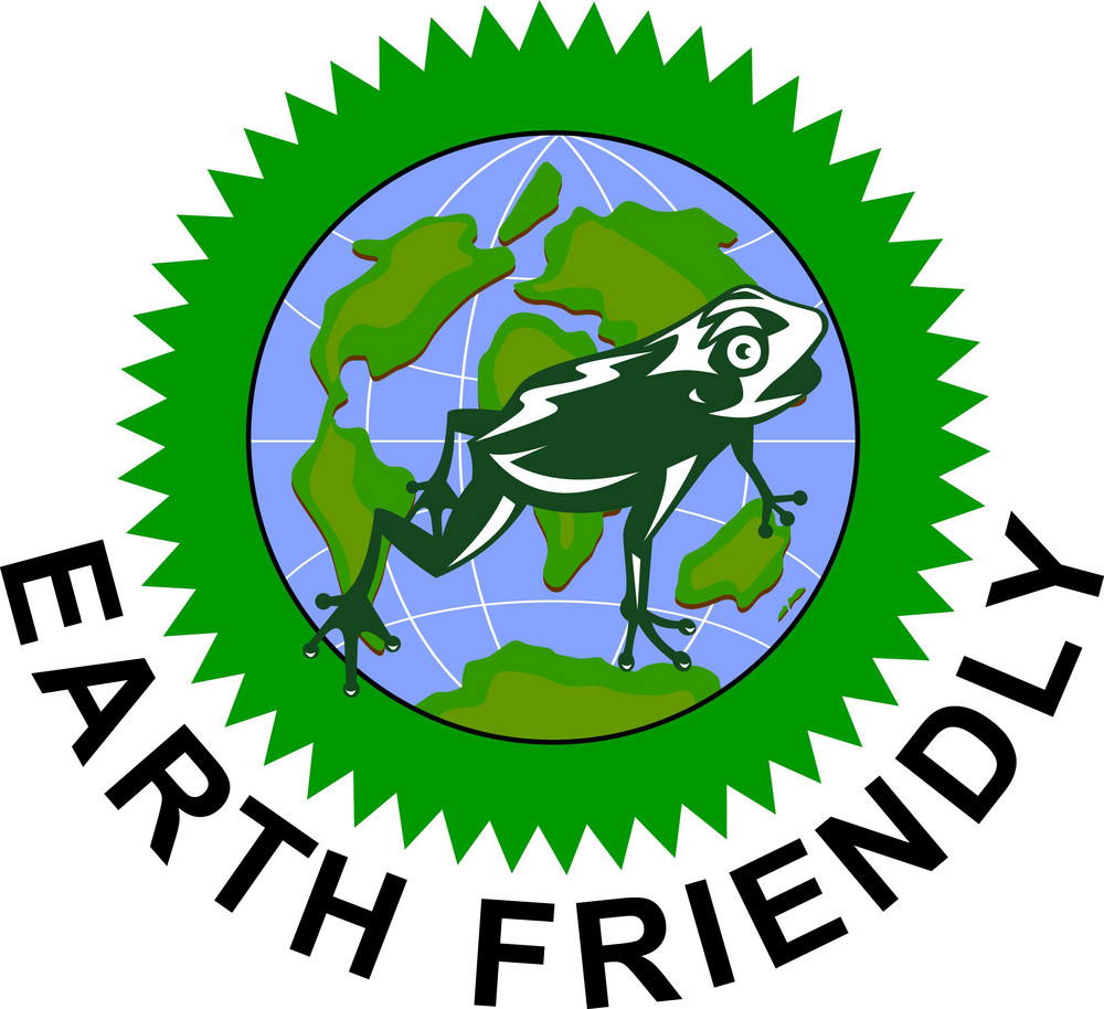 Earth Friendly Sign
