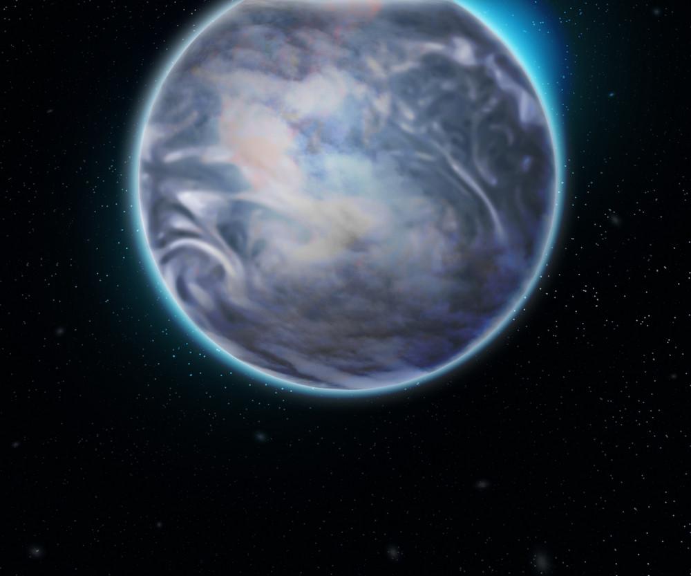 Earth Space Backdrop