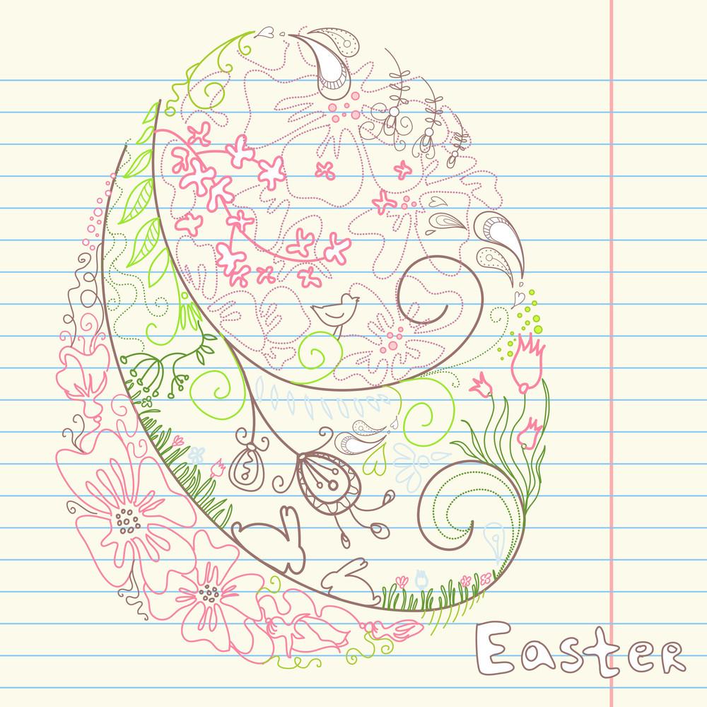 Easter Doodles-