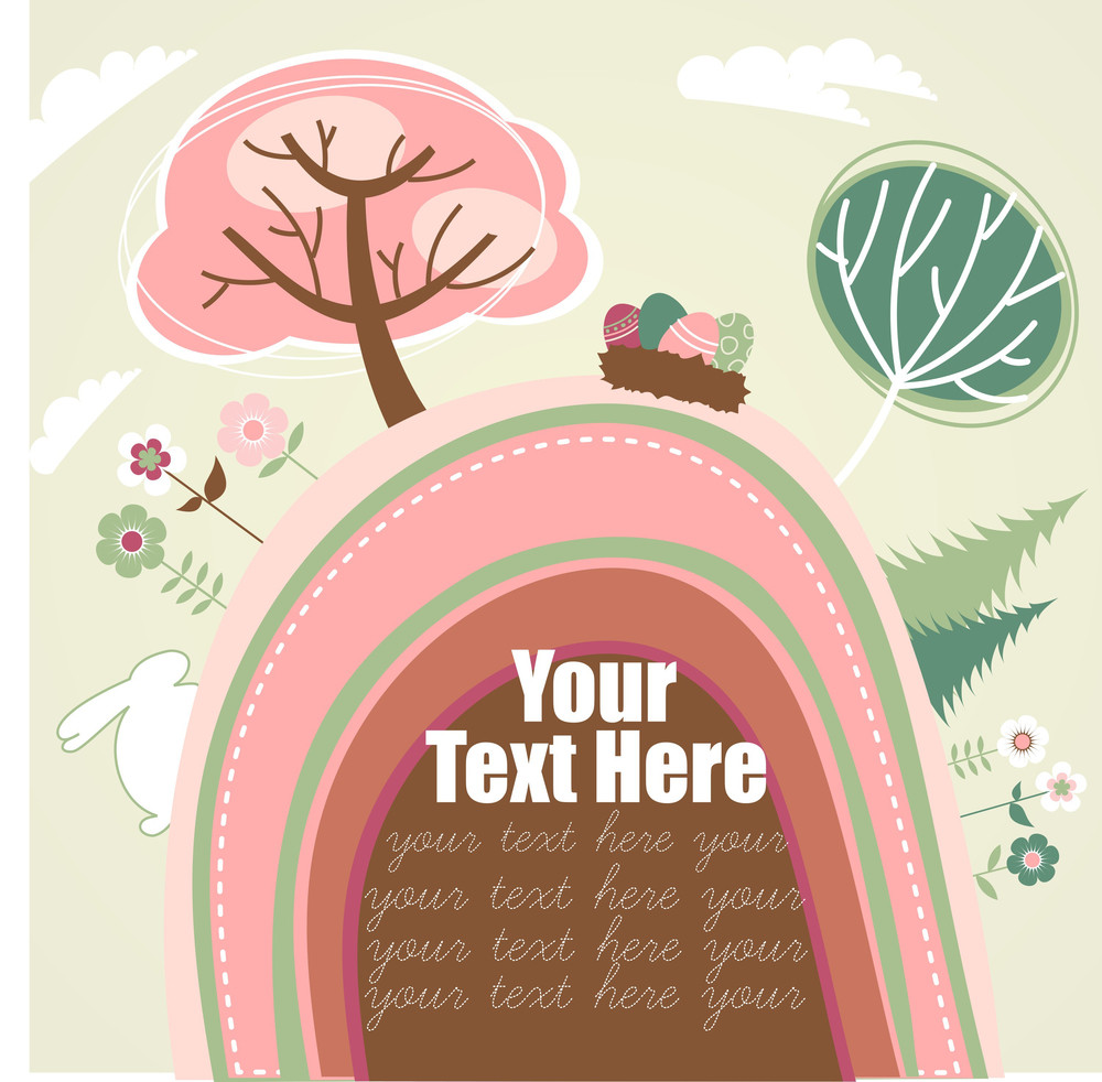 Easter Greeting Card-