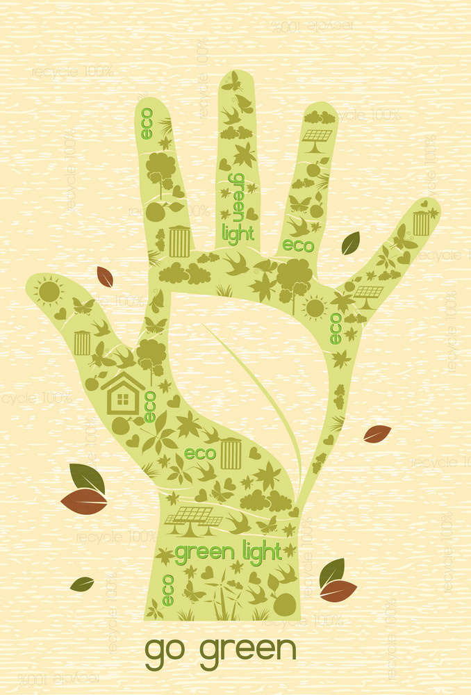 Eco Design Vector Illustration