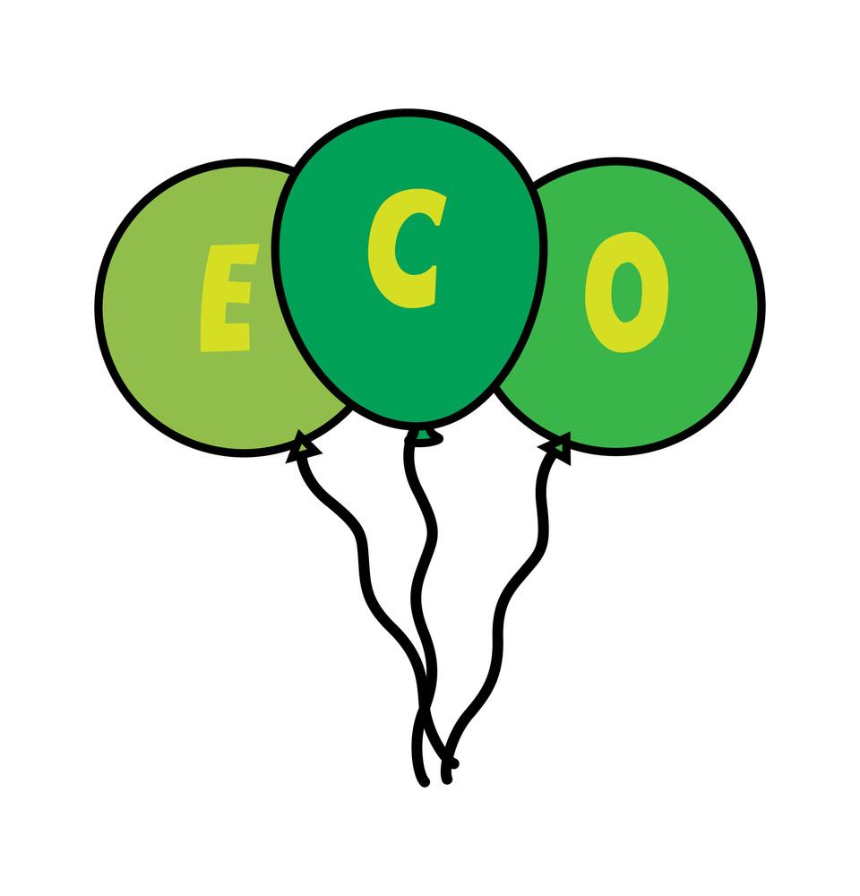Eco Green Balloons