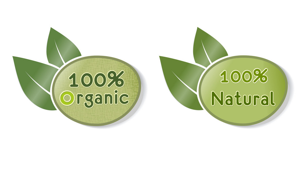 Eco Stickers Vector Illustration