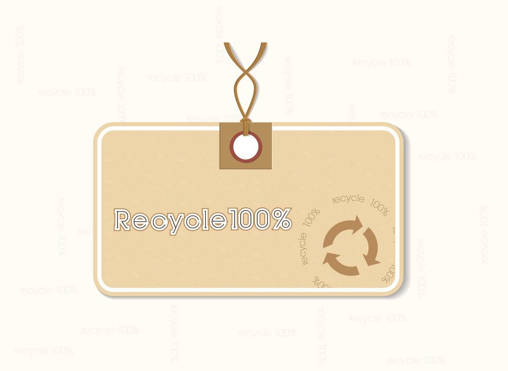 Eco Tag Vector Illustration