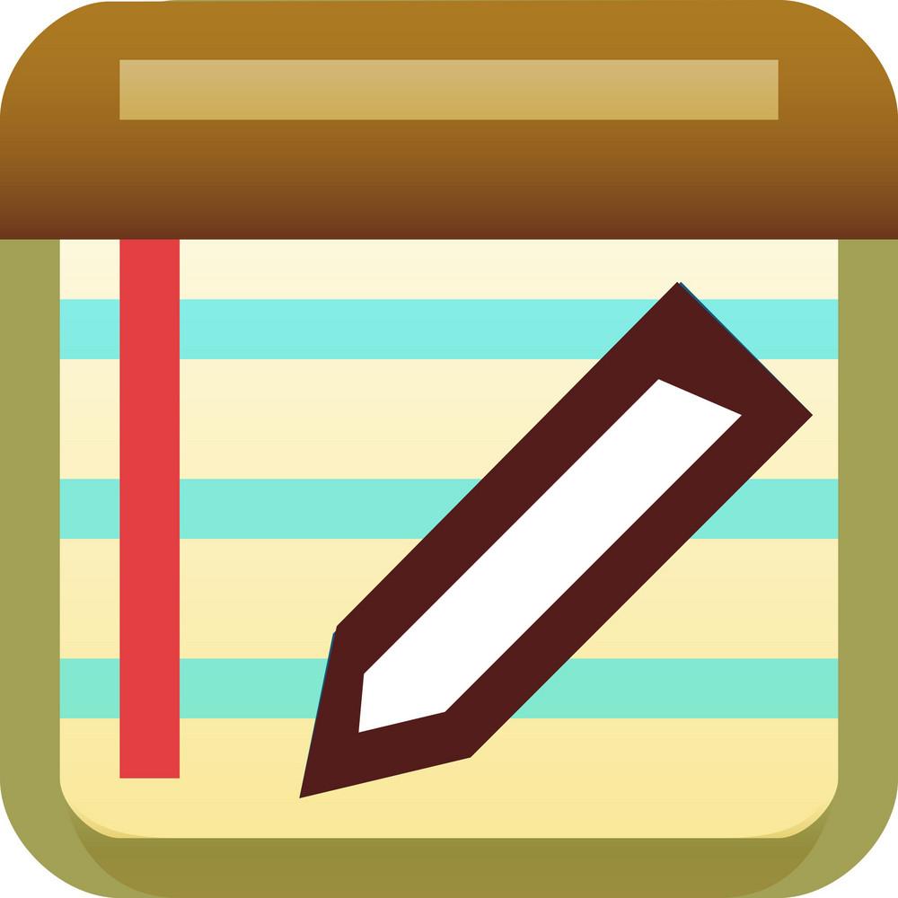 Edit Notes Tiny App Icon