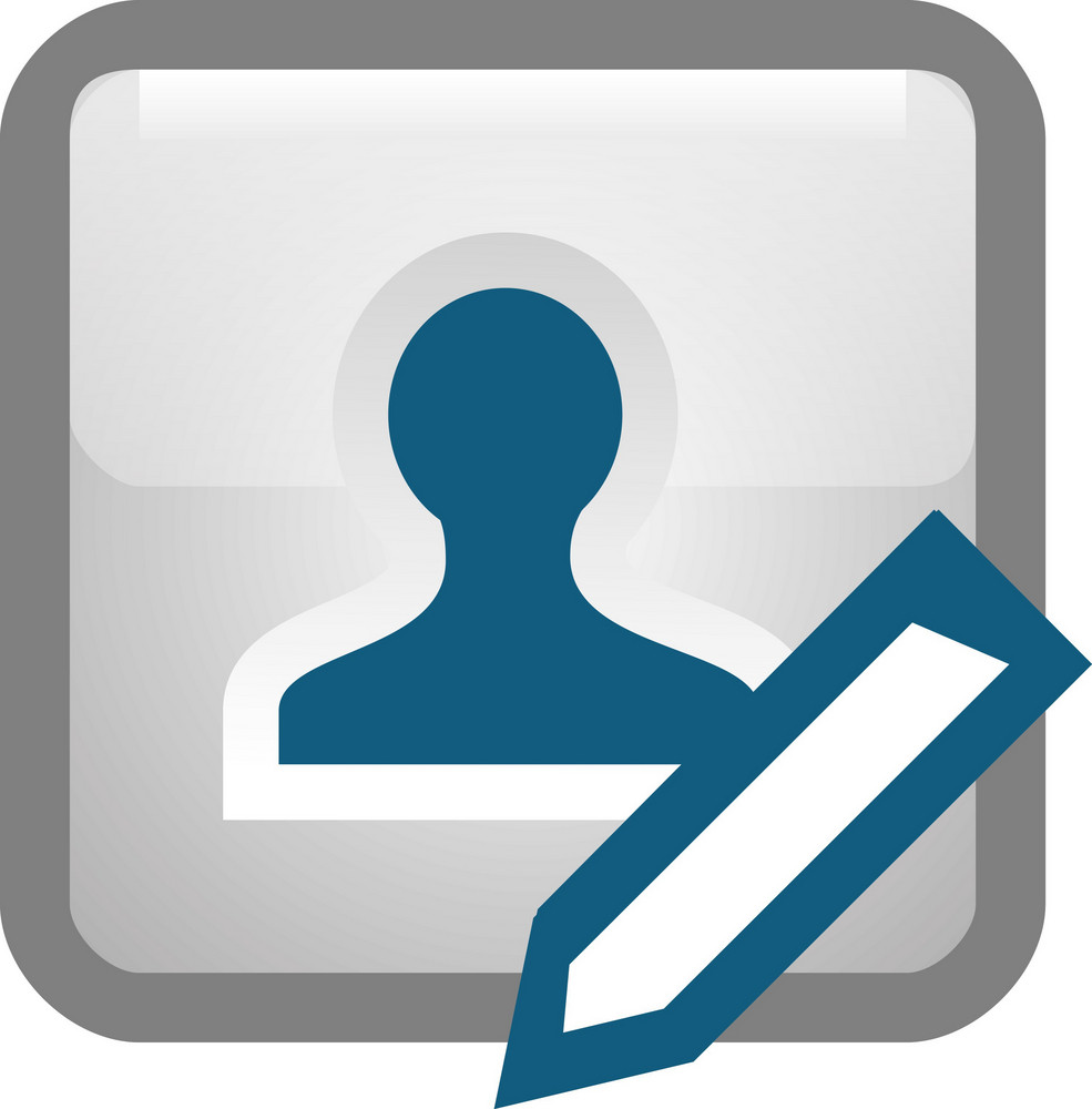 Edit Person Tiny App Icon