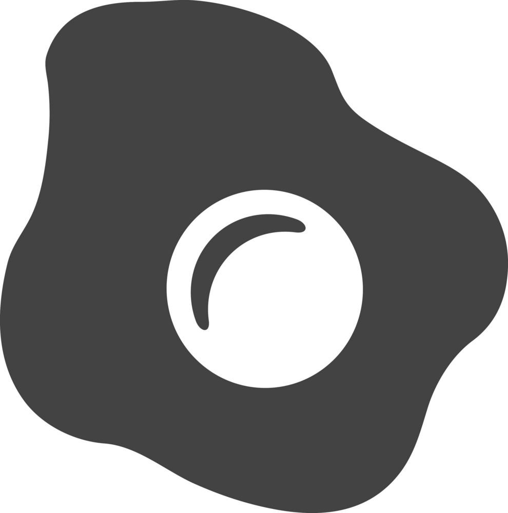 Egg Glyph Icon