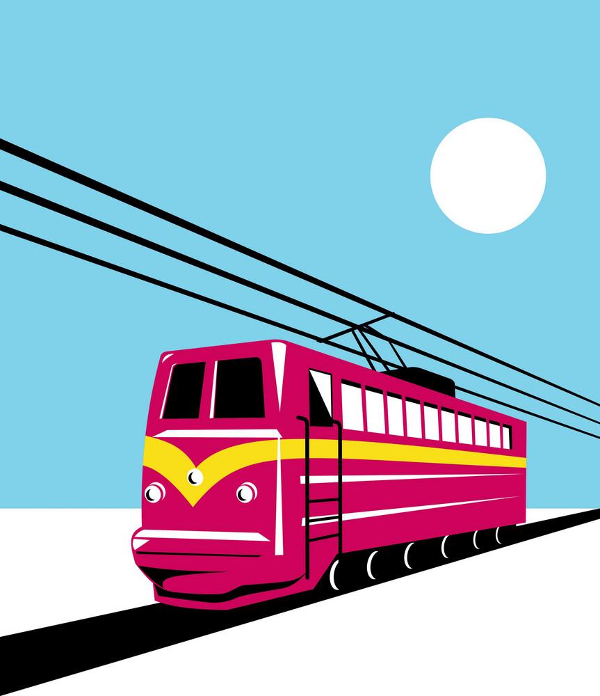 Electric Passenger Train