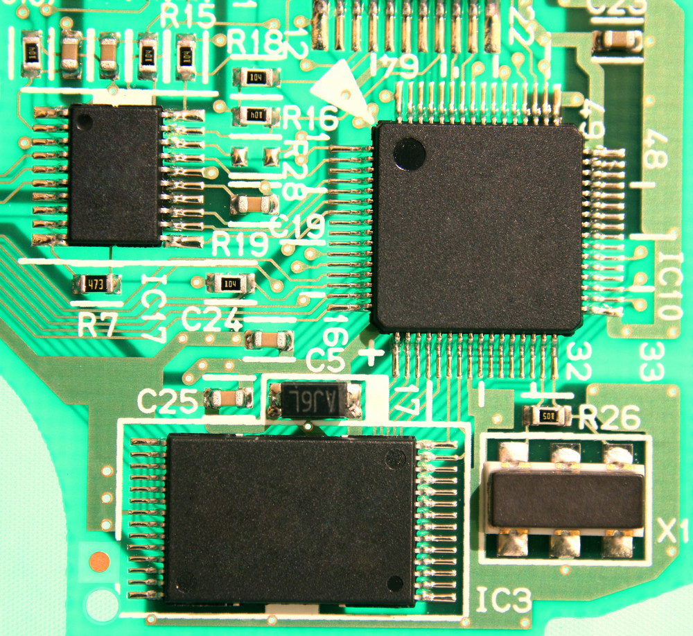 Electronic Circuit Board Royalty Free Stock Image Storyblocks Images With Components Photos