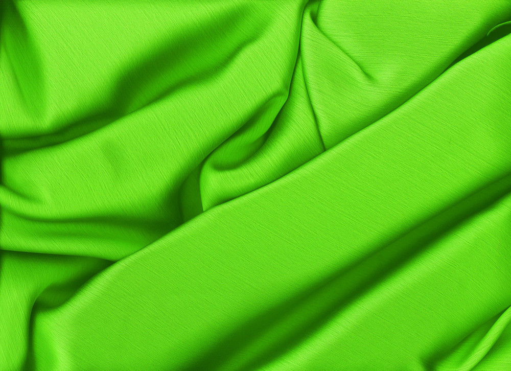 Elegant And Soft Green Satin Background