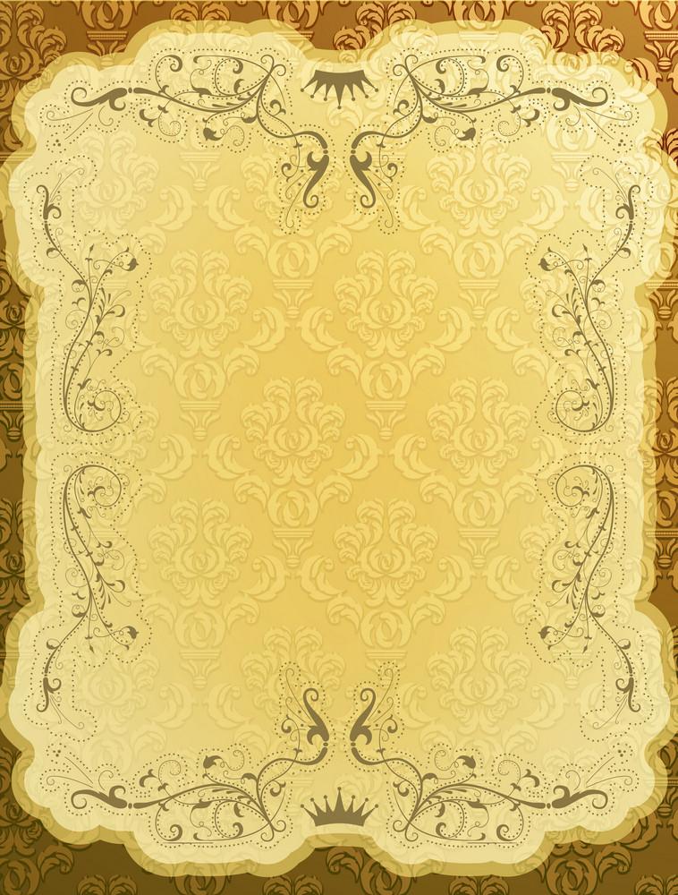 Elegant Vintage Background Vector Illustration