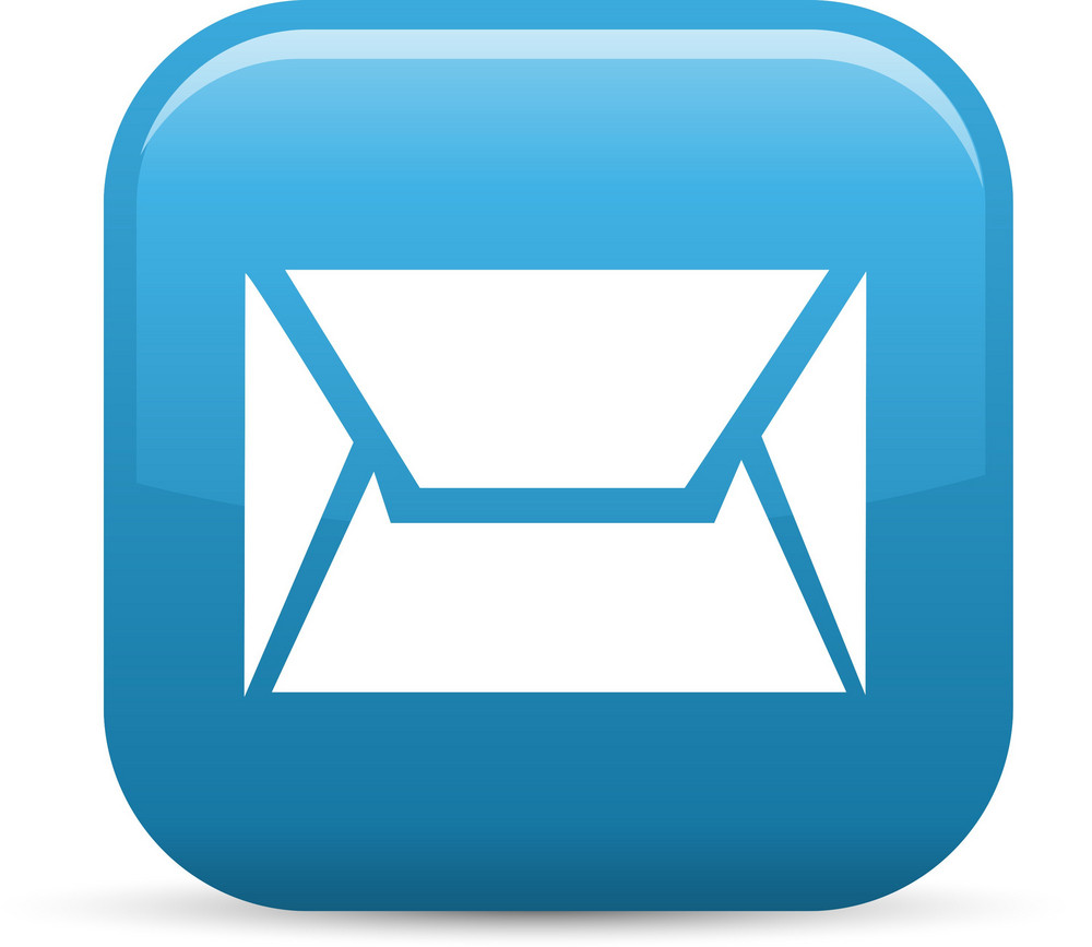 Email Message Elements Glossy Icon