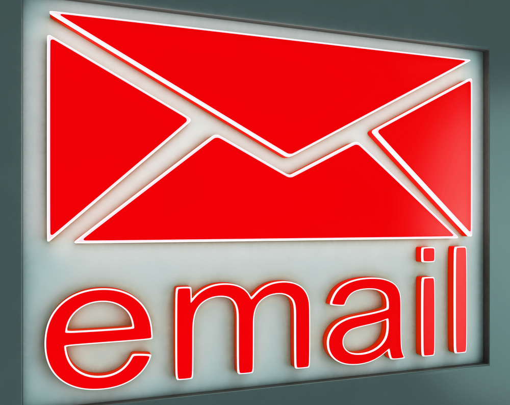 Email Sign Button Shows Online Contact