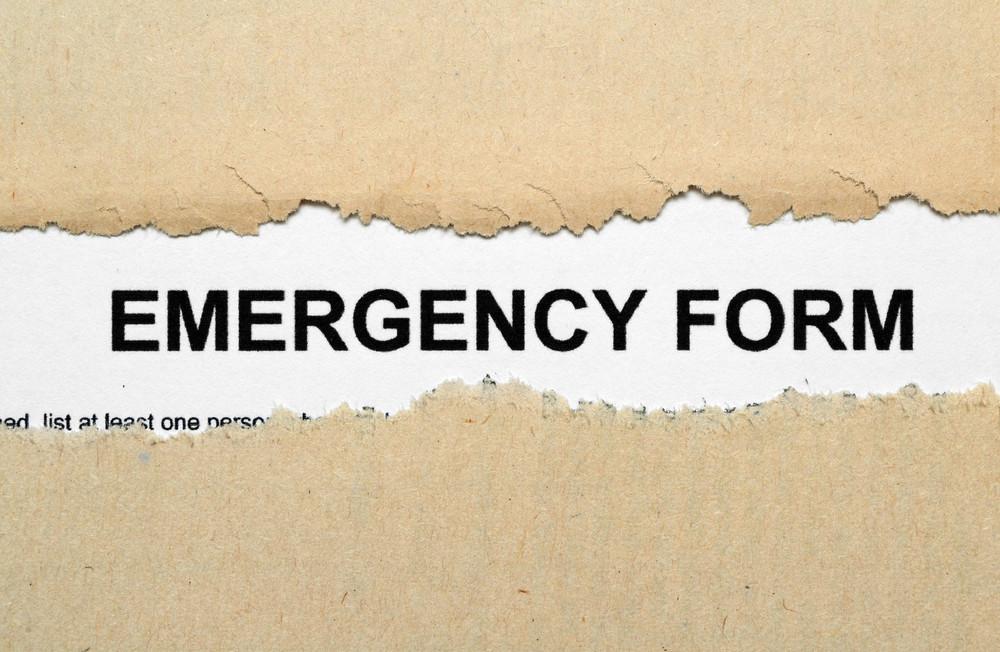 Emergency Form